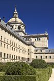 Royal palace Escorial. General view Royalty Free Stock Photo
