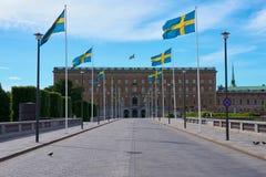 Royal Palace, Estocolmo Suecia foto de archivo