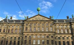 Royal Palace exterior, Amsterdam, Netherlands