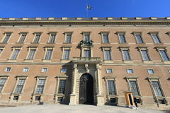 Royal Palace Exterior, Stockholm Royalty Free Stock Image