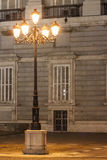 Royal Palace facade detail Stock Image