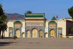 The Royal Palace in Fes, Morocco Royalty Free Stock Image