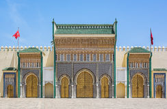 Royal Palace in Fez, Morocco. Royalty Free Stock Image