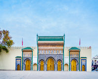 Royal Palace in Fez, Morocco. North Africa. Stock Image
