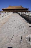 Royal palace in forbidden city Royalty Free Stock Photo