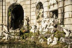 Royal Palace fountain Stock Image