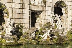 Royal Palace fountain Stock Photos