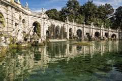 Royal Palace fountain Stock Photography
