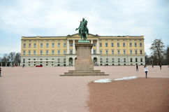 The royal palace Stock Image