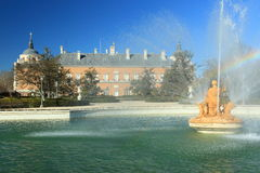 Aranjuez - royal garden and palace Royalty Free Stock Images