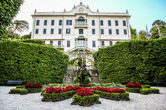 Royal Palace with garden Stock Image