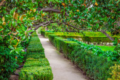 The Royal Palace gardens, Aranjuez,Community of Madrid,Spain,Eur Royalty Free Stock Images