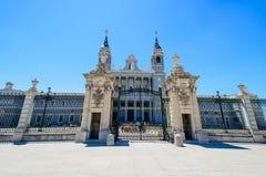 Royal Palace gate Stock Images
