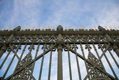 Royal Palace gate detail Stock Images