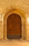Royal Palace Gate entrance Almudaina Royalty Free Stock Photos