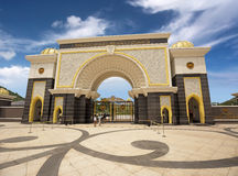 Royal palace gate Stock Photo