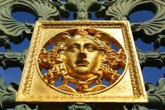 Royal Palace gate il dettaglio, Torino, Italia Immagini Stock