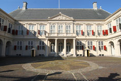 Royal Palace in The Hague, Holland Stock Images