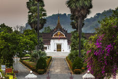 Royal Palace(Haw Kham) in Luang Prabang, Laos. Stock Photography