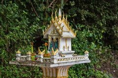 Royal Palace Haw Kham w Luang Prabang, Laos, Azja obraz stock