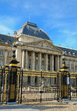 Royal Palace in historical center of Brussels Royalty Free Stock Photography
