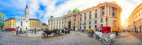 Royal Palace Hofburg στη Βιέννη, Αυστρία στοκ φωτογραφίες με δικαίωμα ελεύθερης χρήσης