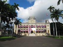 Royal Palace, Honolulu, Oahu, Hawai Immagini Stock