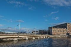 Royal Palace i aftonen Fotografering för Bildbyråer
