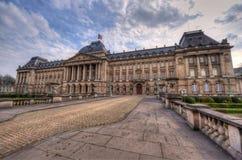 Royal Palace i Bryssel Arkivfoto