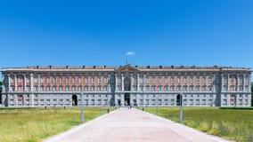 Royal Palace i Caserta Reggia di Caserta royaltyfri fotografi