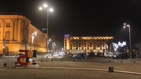 Royal Palace i Hilton hotel W Bucharest zdjęcie wideo