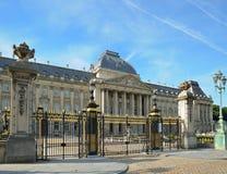 Royal Palace i mitt av Bryssel Fotografering för Bildbyråer
