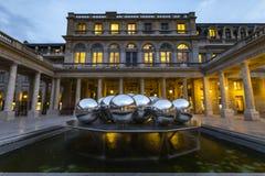 Royal Palace i Paris Arkivfoto