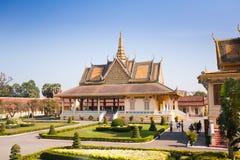 Royal Palace i Phnom Penh Royaltyfri Foto