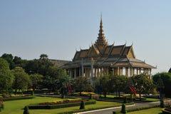 Royal Palace i Pnom Penh Royaltyfri Foto
