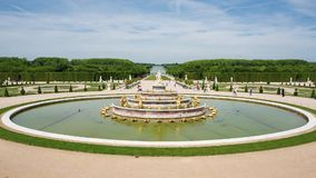 Royal Palace i Versailles lager videofilmer