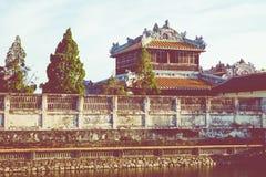 Royal Palace impérial de dynastie de Nguyen en Hue, Vietnam L'UNESCO photos libres de droits