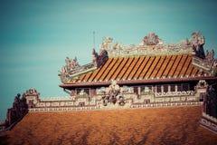 Royal Palace impérial de dynastie de Nguyen en Hue, Vietnam L'UNESCO image stock
