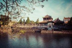 Royal Palace impérial de dynastie de Nguyen en Hue, Vietnam L'UNESCO images libres de droits
