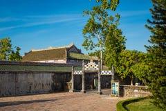 Royal Palace impérial de dynastie de Nguyen en Hue, Vietnam L'UNESCO image libre de droits