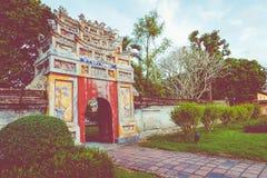 Royal Palace impérial de dynastie de Nguyen en Hue, Vietnam L'UNESCO photo libre de droits