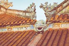 Royal Palace impérial de dynastie de Nguyen en Hue, Vietnam L'UNESCO photographie stock