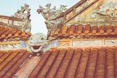 Royal Palace impérial de dynastie de Nguyen en Hue, Vietnam L'UNESCO images stock