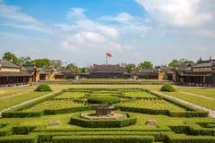Royal Palace impérial en Hue, Vietnam photographie stock libre de droits