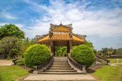 Royal Palace imperiale nella tonalità, Vietnam fotografie stock