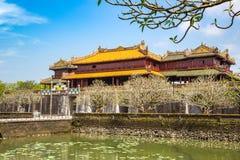 Royal Palace imperiale nella tonalità, Vietnam fotografia stock