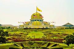 Royal Palace Istana Negara Istana Negara, Kuala Lumpur, Malaysia. The Istana Negara is the official residence of the Yang di-Pertuan Agong, the monarch of Royalty Free Stock Images