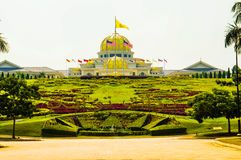 Royal Palace Istana Negara Istana Negara, Kuala Lumpur, Malaysia. The Istana Negara is the official residence of the Yang di-Pertuan Agong, the monarch of Stock Photography