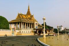 Royal Palace, Kambodża fotografia royalty free