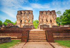 Royal Palace of King Parakramabahu. Stock Photography